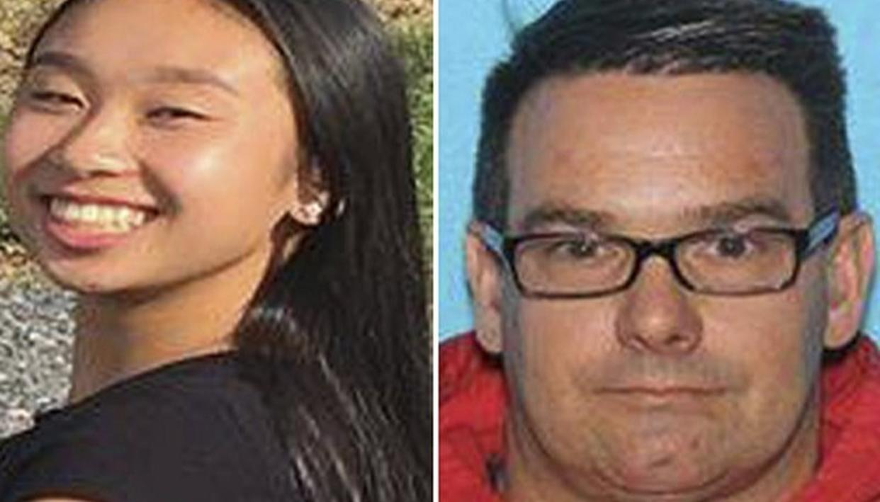 TEEN AND MAN WHO GOT HER OUT OF SCHOOL LOCATED IN MEXICO