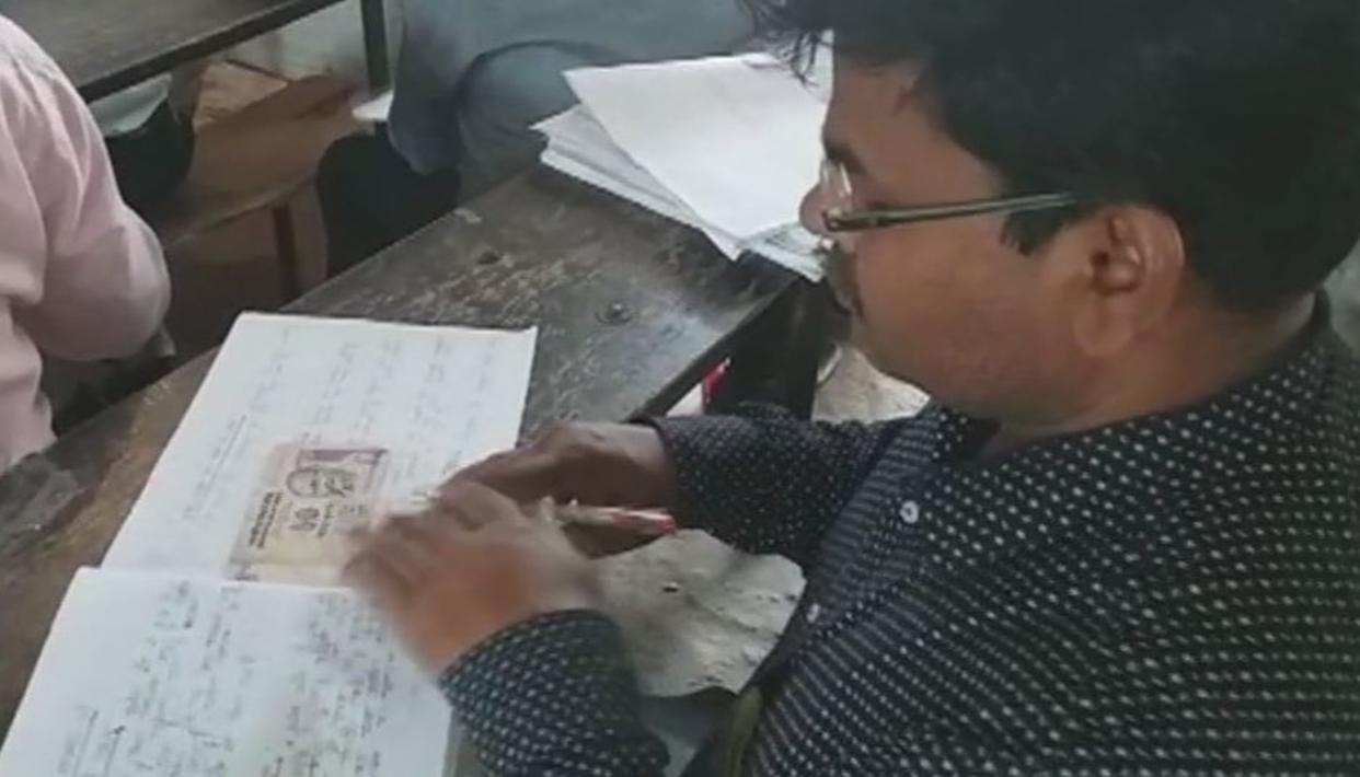WATCH: MONEY, NOTES FOUND IN U.P BOARD EXAM SHEETS