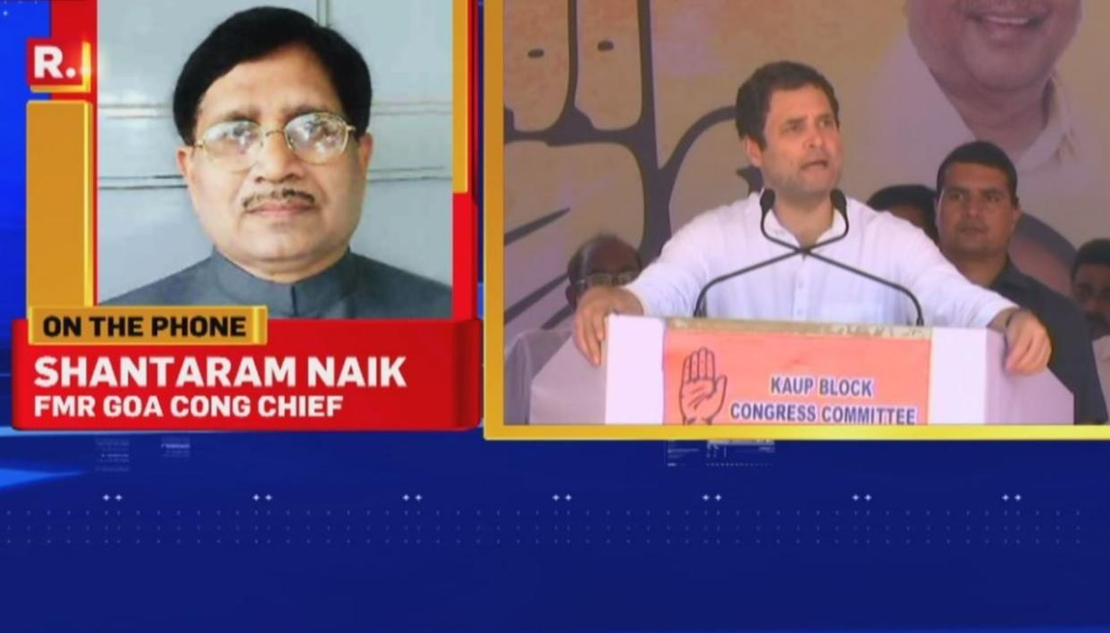 """WATCH: """"INSPIRED"""" CONG GOA CHIEF QUITS"""