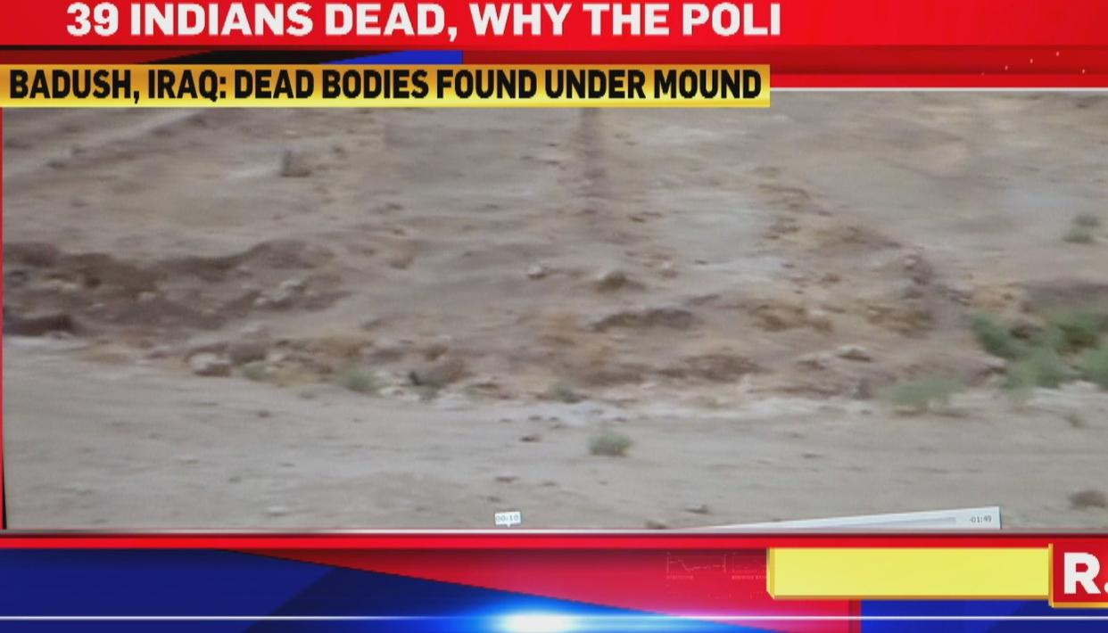 FIRST PICTURES OF MASS GRAVES IN BADUSH