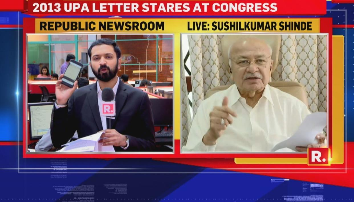 WATCH: SHINDE SHOWS LETTER, NOT ANNEXURES