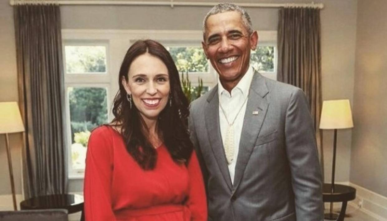 OBAMA GIVES PARENTING TIPS TO NZ PM