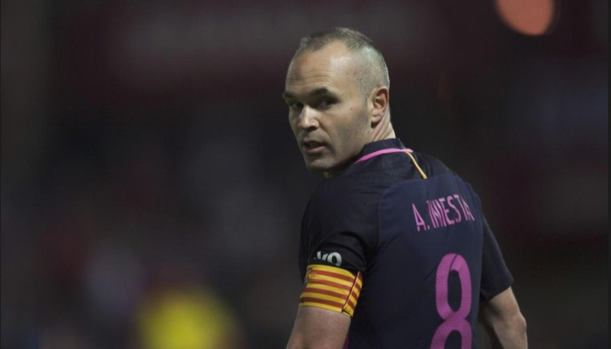 POTENTIAL RUSSIAN SWANSONG FOR INIESTA
