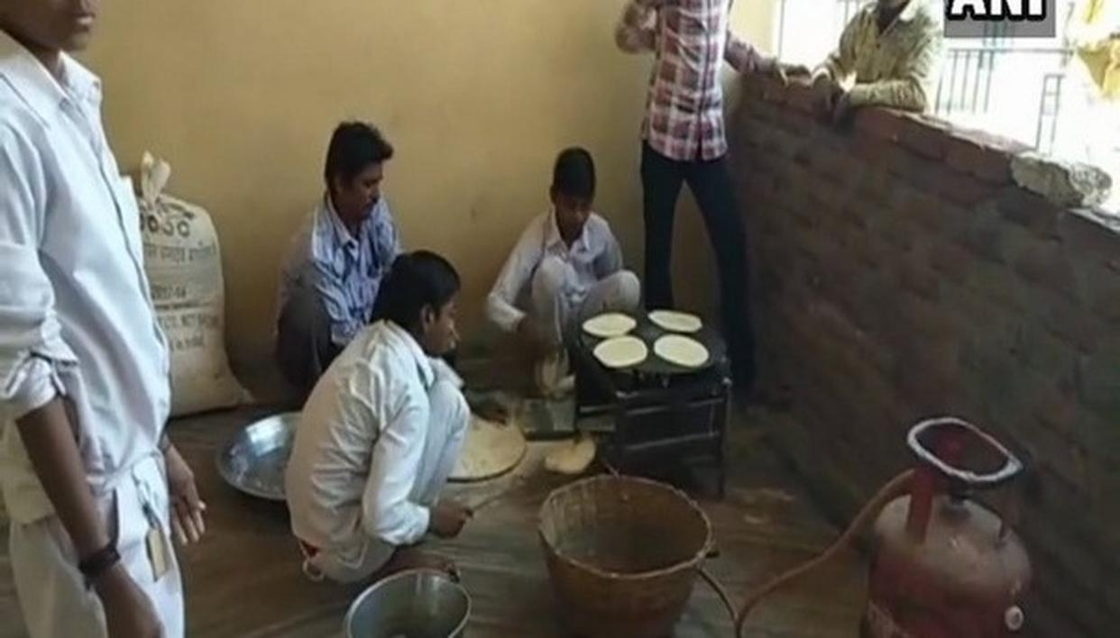 TRIBAL STUDENTS FORCED TO MAKE CHAPATTIS
