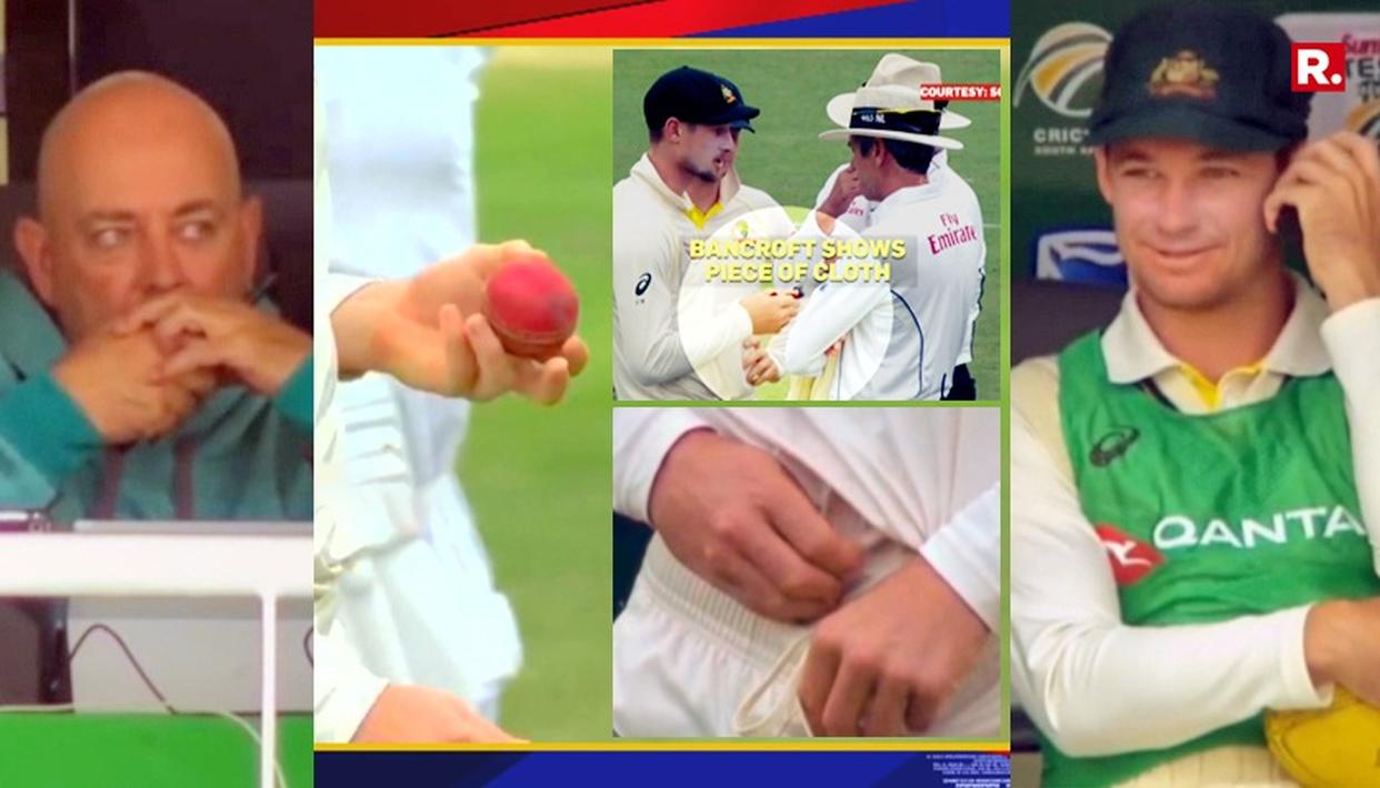 WATCH HOW AUSSIE CHEATS WERE EXPOSED IN SENSATIONAL BALL-TAMPERING SCANDAL