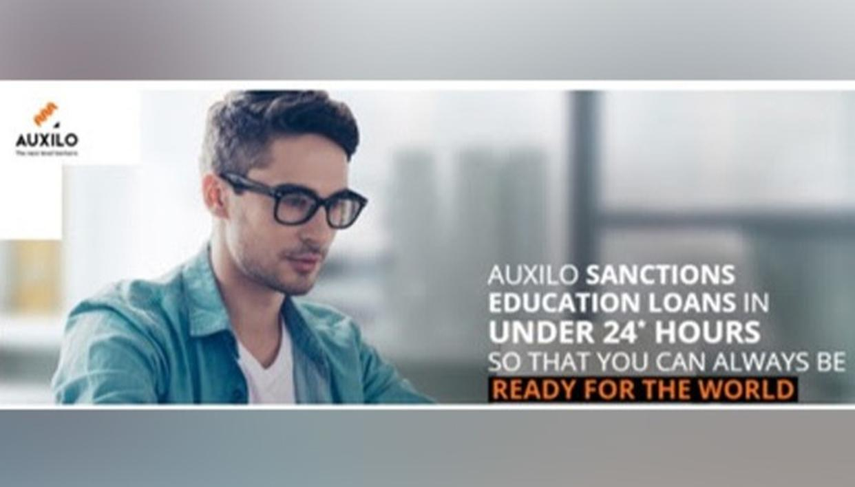 AUXILO FINSERVE LAUNCHES SWIFT EDUCATION LOANS