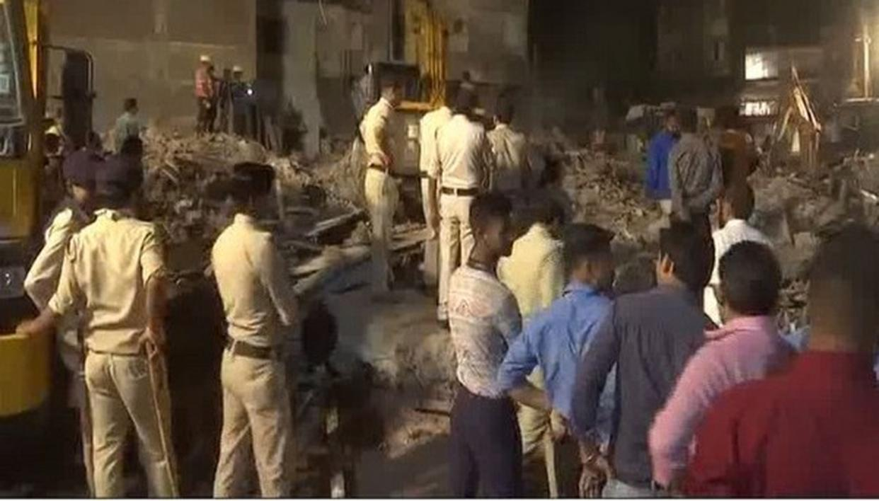 BUILDING COLLAPSES IN INDORE