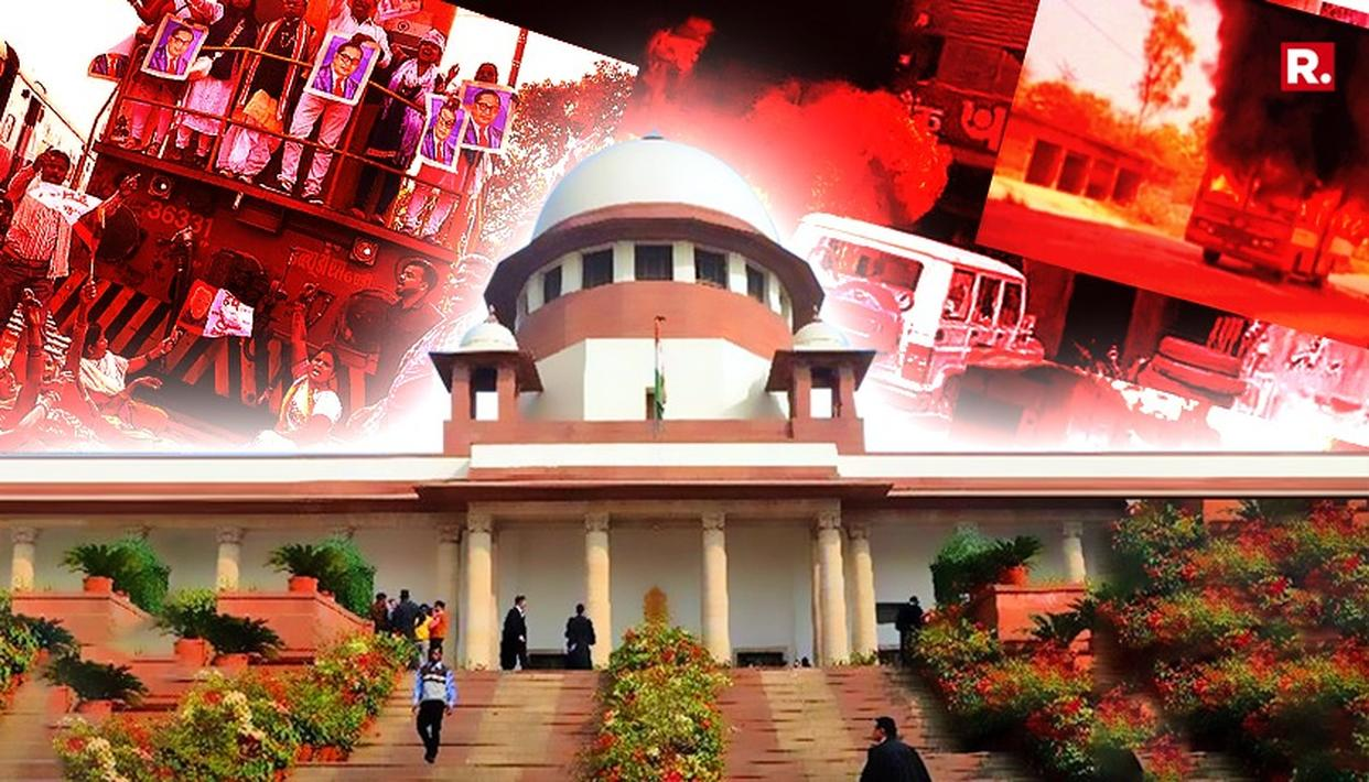 NO STAY ON SC/ST ACT ORDER: SUPREME COURT