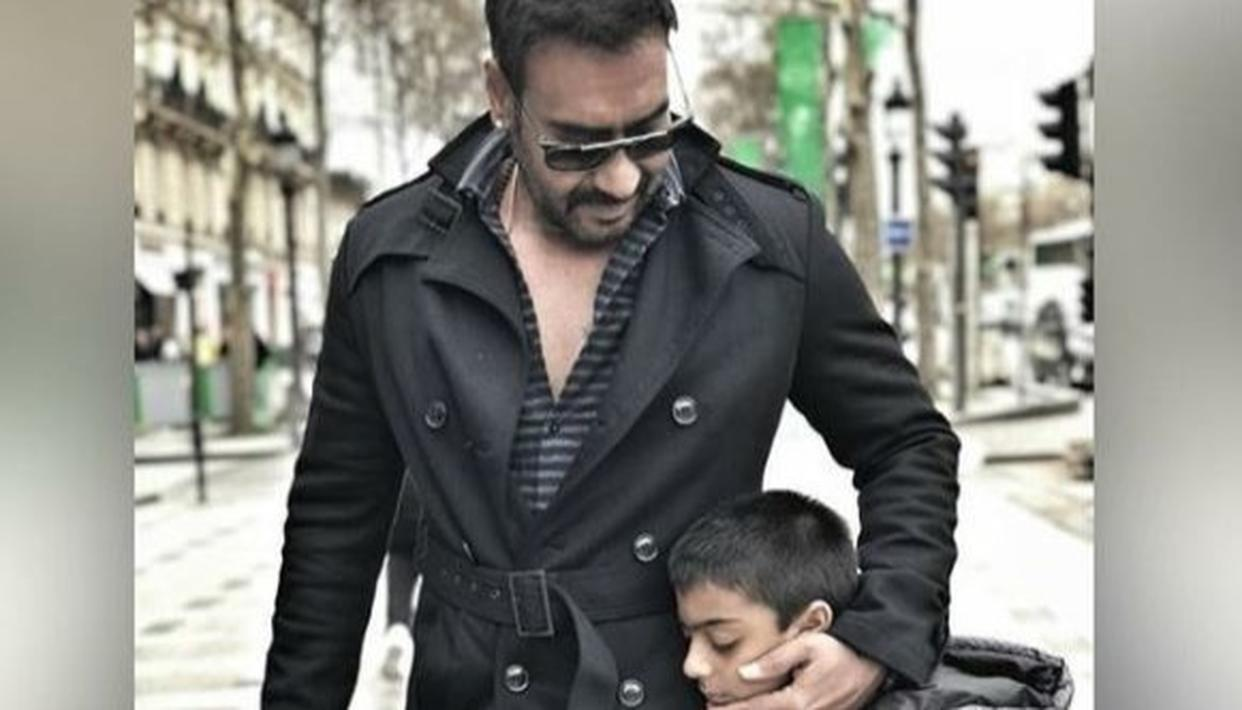 AJAY SHAMED FOR SMOKING NEXT TO HIS SON