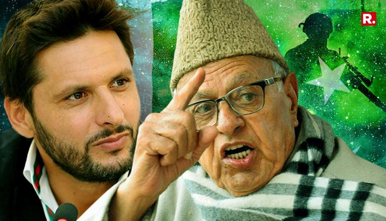 FAROOQ BACKS SHAHID AFRIDI