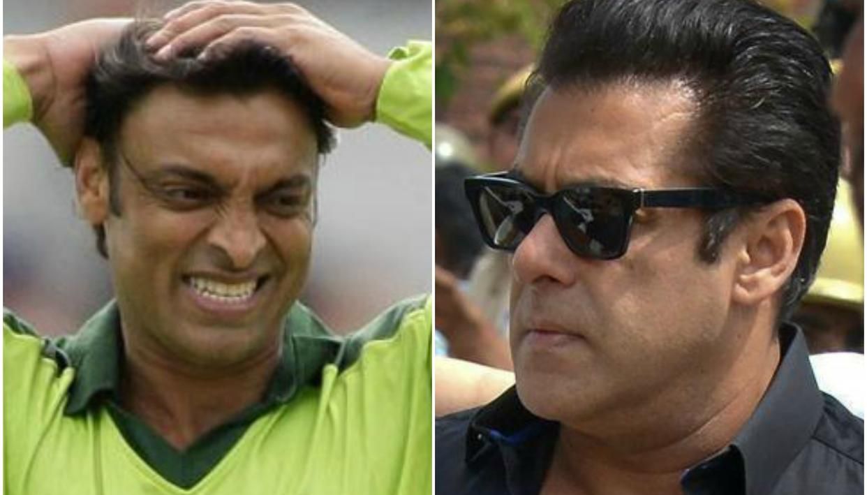 HERE'S WHAT PAK PACER SHOAIB AKHTAR TWEETED ON SALMAN KHAN