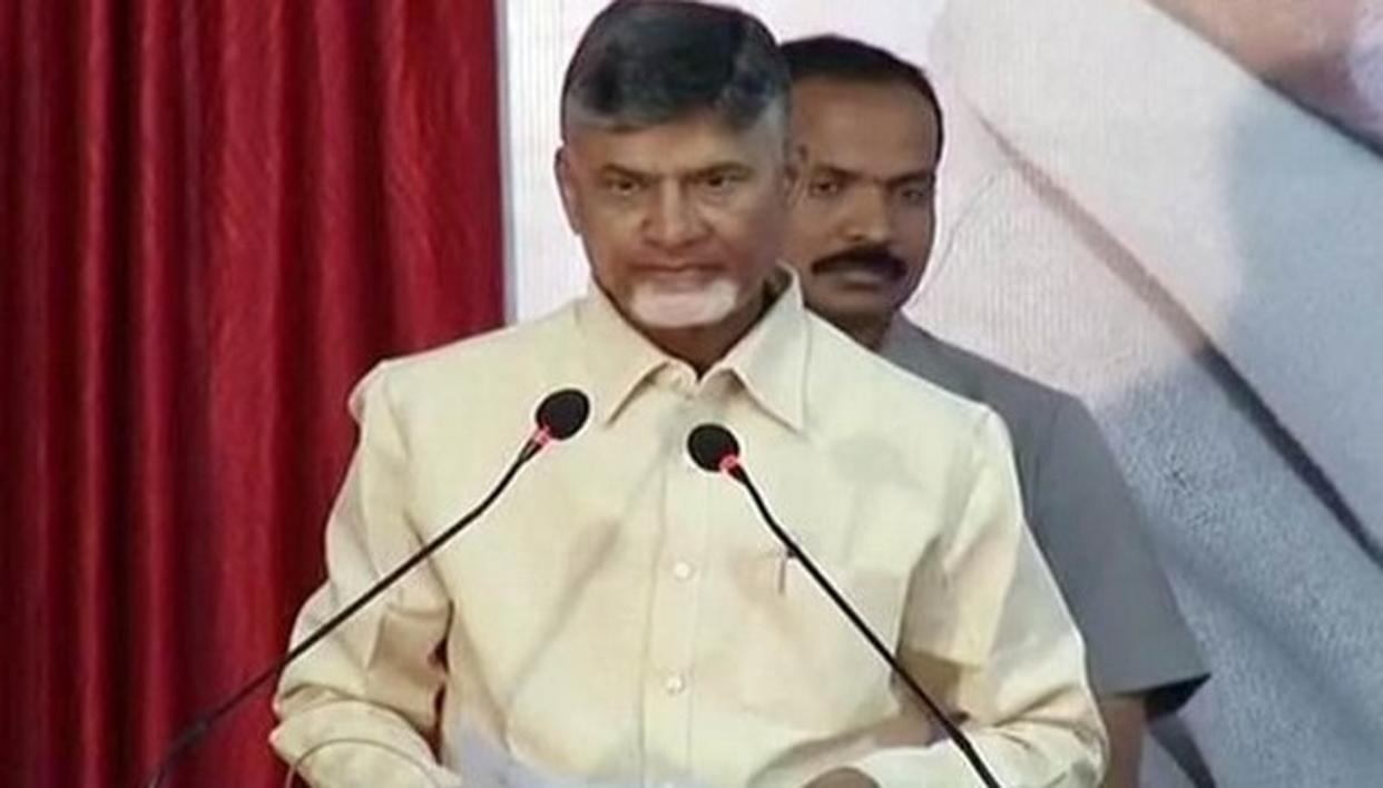 TDP MP'S TO MEET PRESIDENT: NAIDU