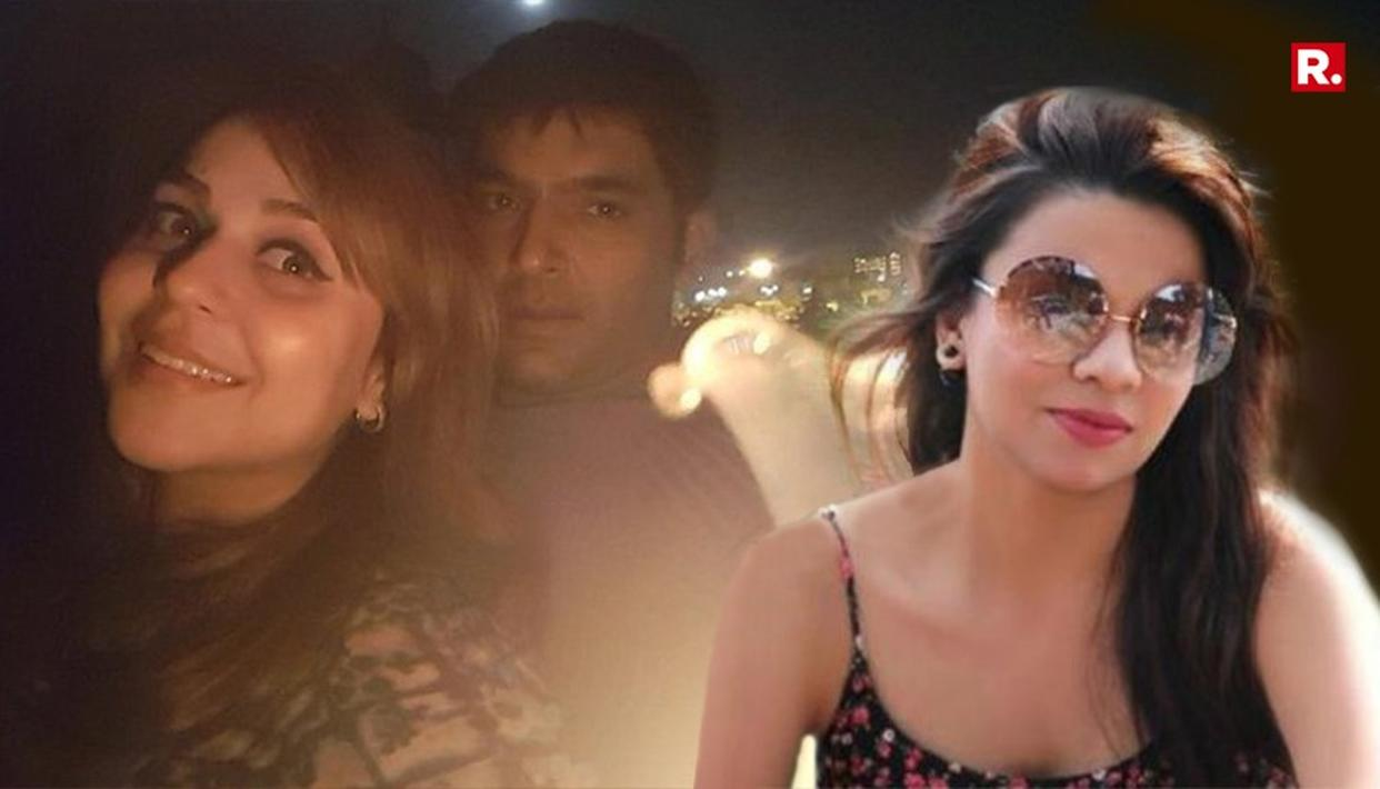 KAPIL'S EX-GIRLFRIEND LASHES OUT AT CURRENT LADYLOVE