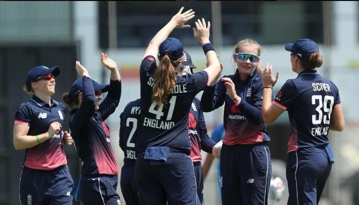ENGLAND EVES BEAT INDIA BY 8 WICKETS