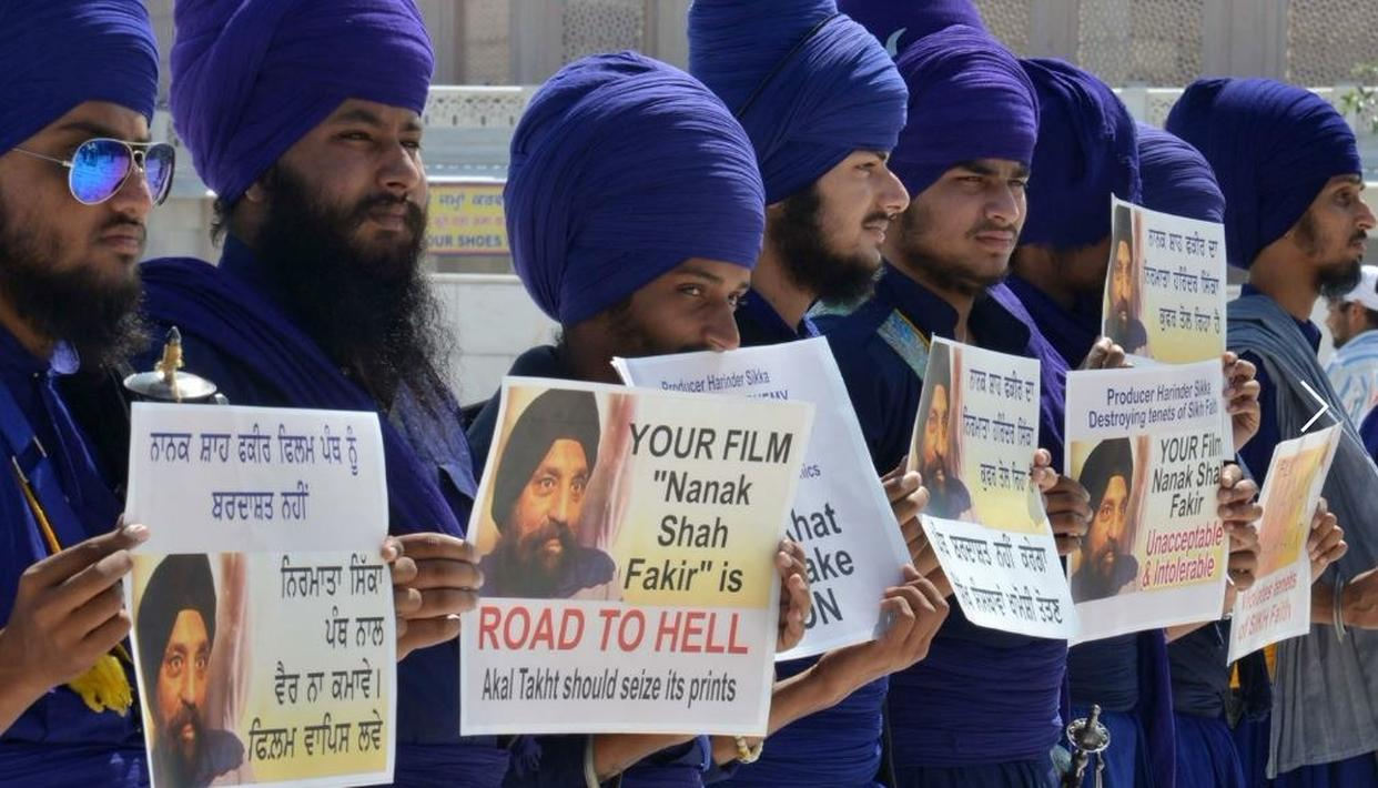 CONTROVERSIAL FILM 'NANAK SHAH FAKIR' BANNED BY AKAL TAKHT