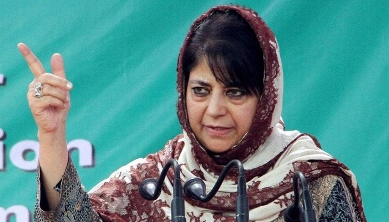 MEHBOOBA PROMISES DEATH FOR RAPISTS OF MINORS