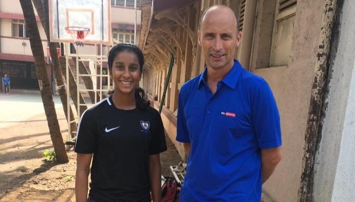THIS 17-YEAR-OLD GIRL WILL BE INDIA'S CRICKET STAR, SAYS NASSER HUSSAIN