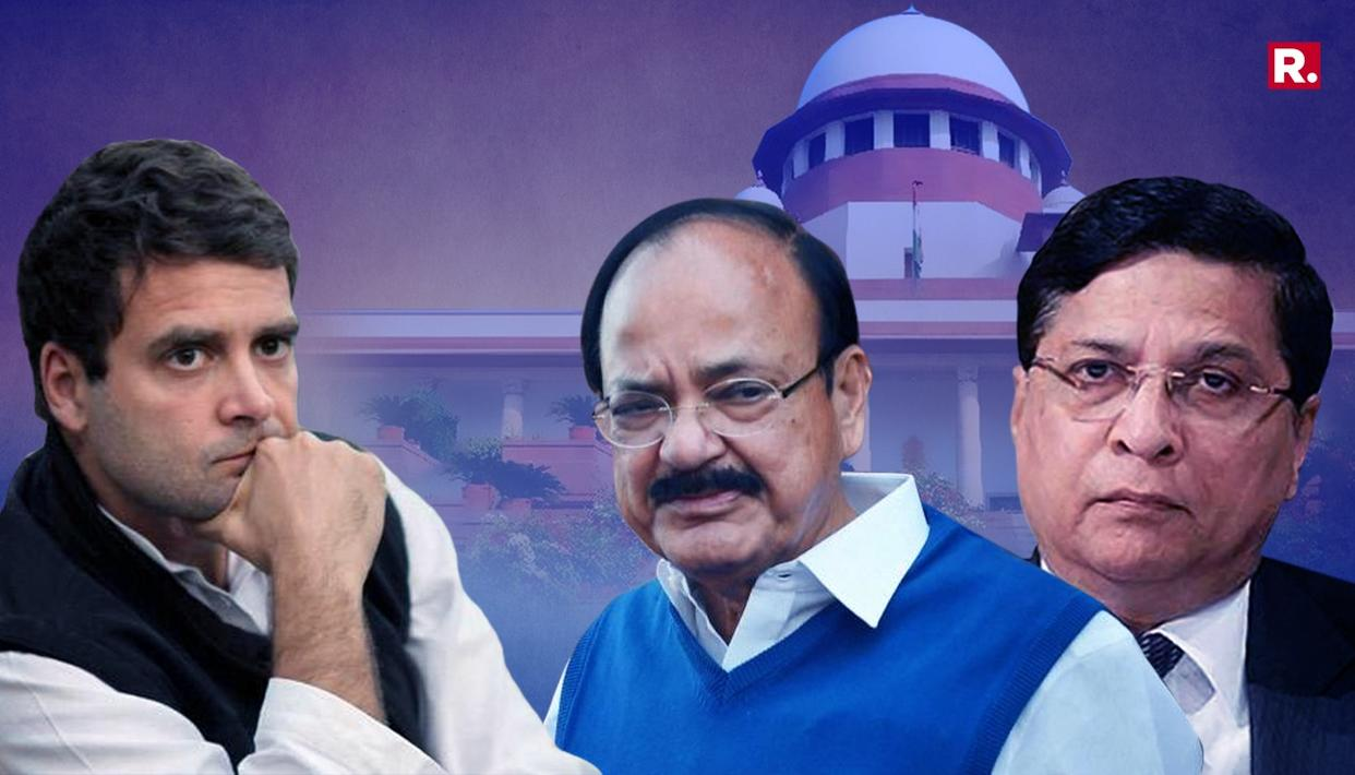 NAIDU REJECTS IMPEACHMENT NOTICE