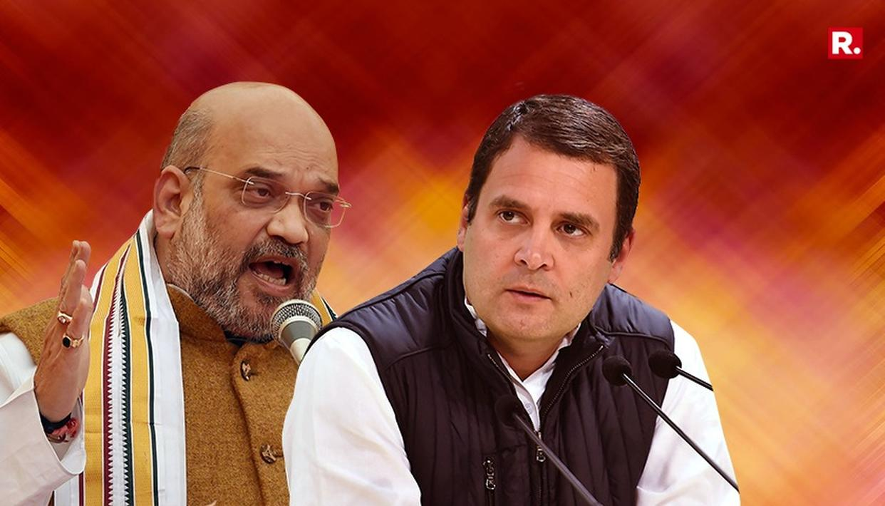 RAHUL SAVING CONSTITUTION OR DYNASTY?: SHAH