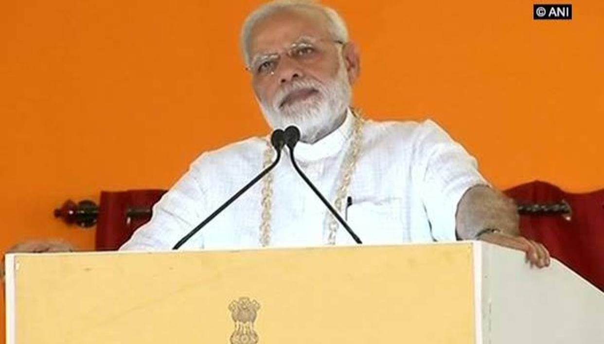 PM MODI: EVERY DROP OF WATER SHOULD BE CONSERVED