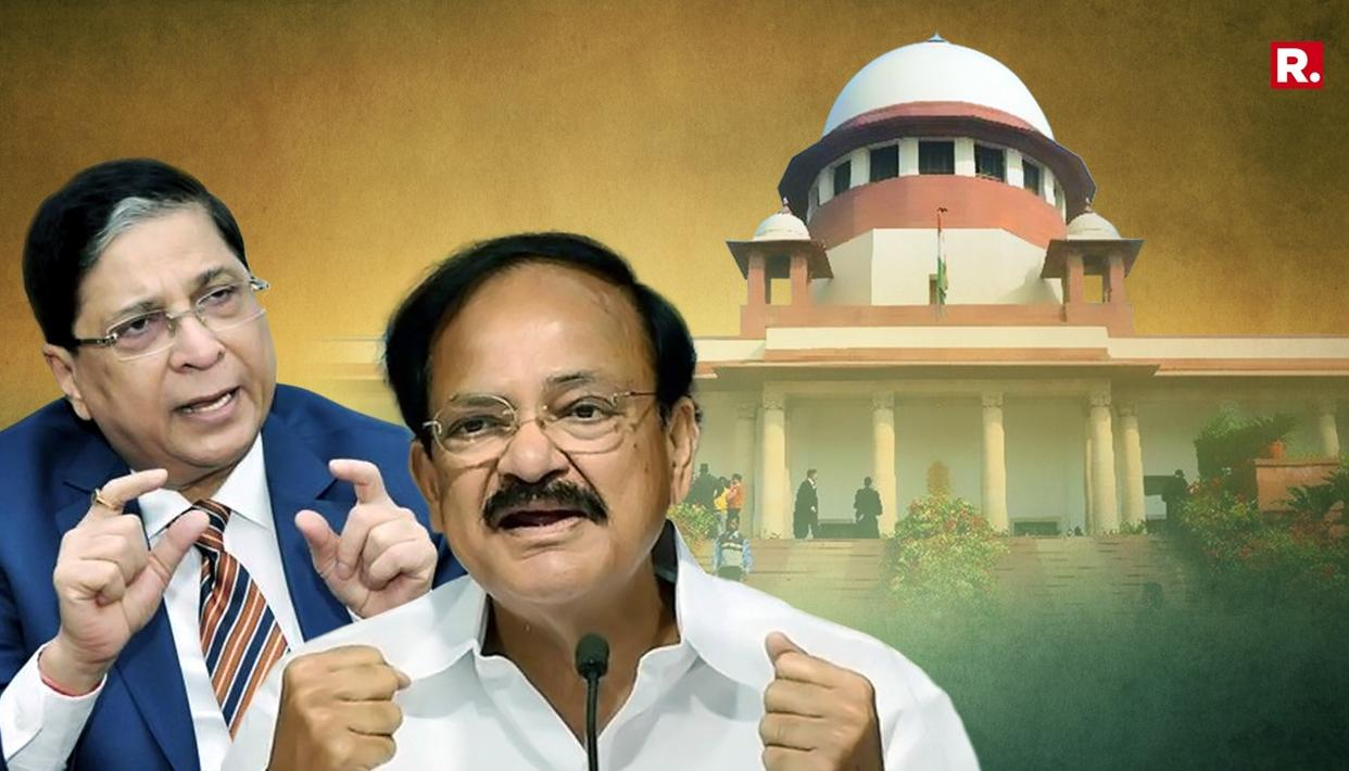 VP NAIDU STANDS BY CJI DECISION