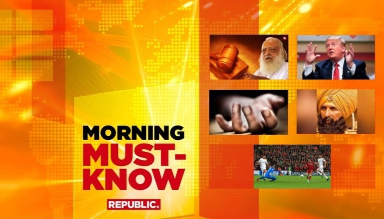 MORNING MUST-KNOW!