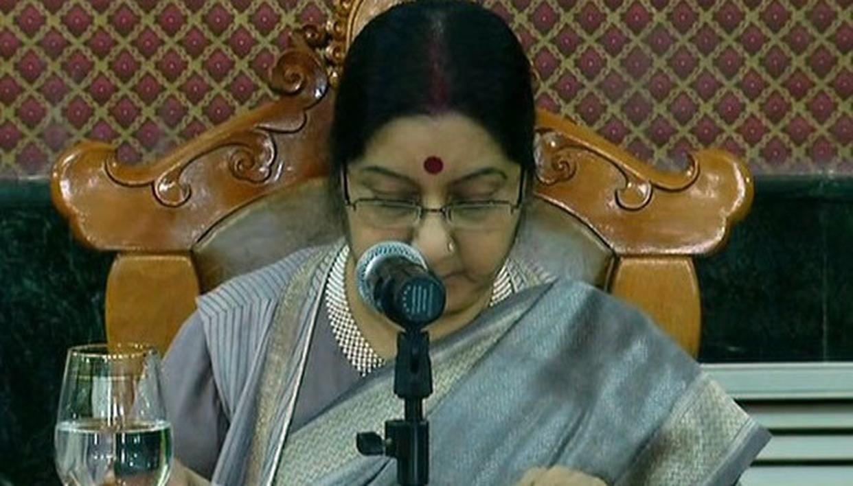 SWARAJ CO-CHAIRS 6TH JOINT COMMITTEE FOR COOPERATION