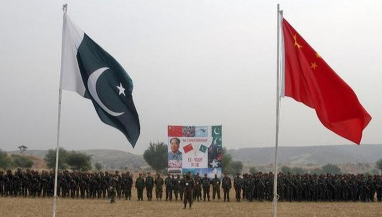 CHINA URGES PAK TO KEEP TENSION WITH INDIA