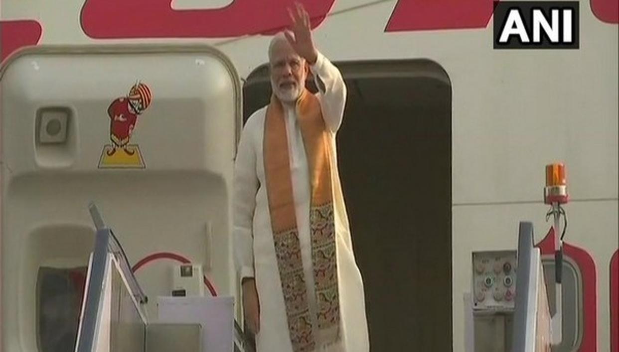 INFORMAL SUMMIT: PM MODI LEAVES FOR CHINA