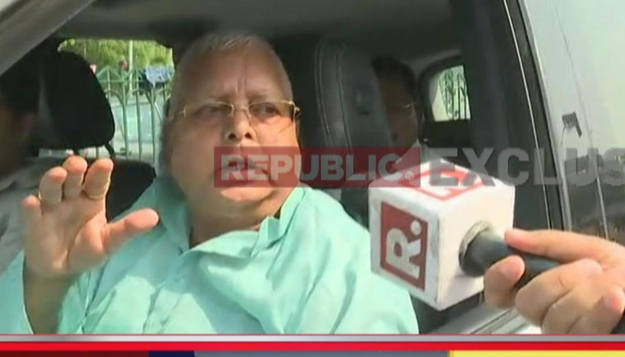'FIT' LALU CLAIMS 'MODI' CONSPIRACY
