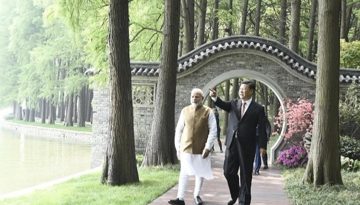MODI SEES IN CHINA AN OPPORTUNITY, NOT AN ENEMY