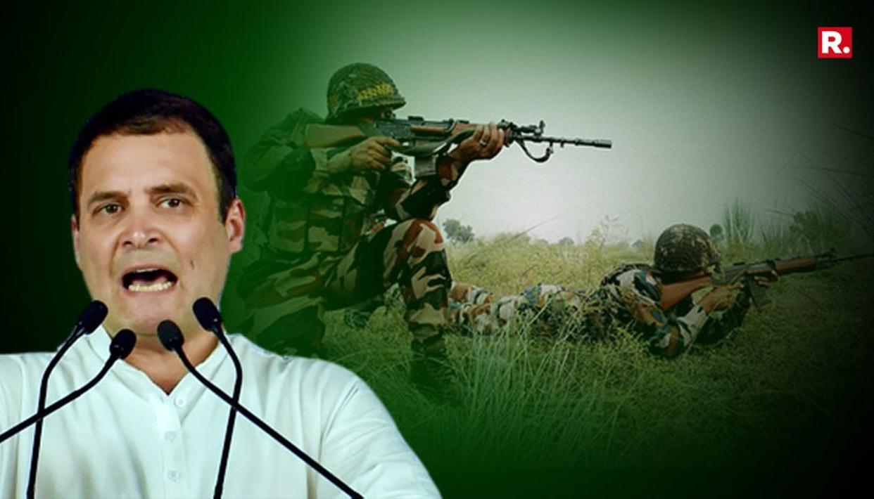 CONG'S '3 SURGICAL STRIKES' LIE EXPOSED