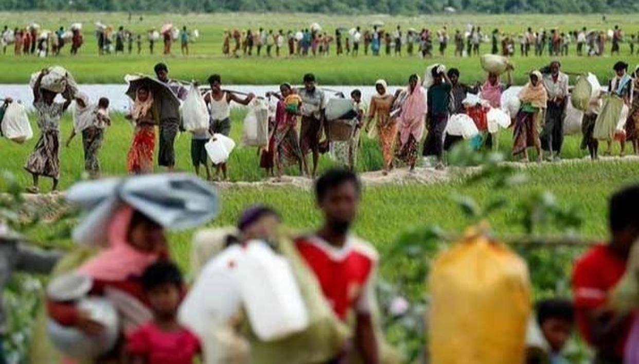 ROHINGYA WILL BE SAFE IN AREAS 'DESIGNATED' FOR THEM: MYANMAR ARMY CHIEF