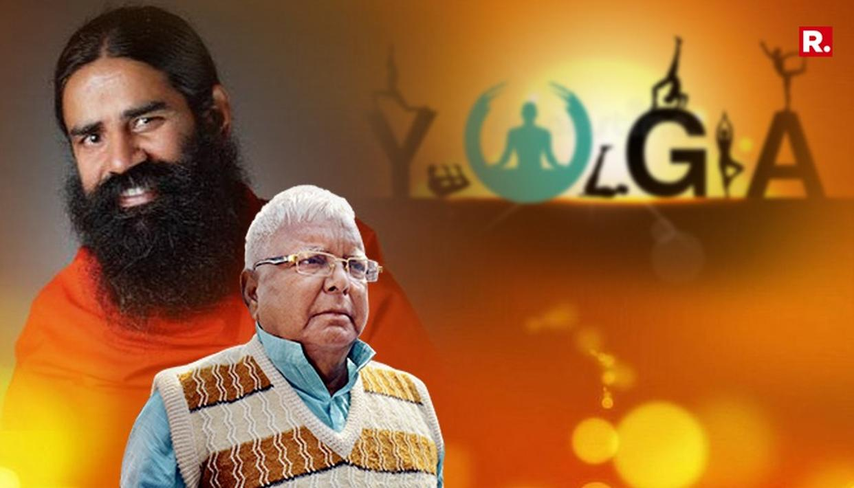 WATCH: RAMDEV TO APPOINT YOGA TEACHER FOR LALU