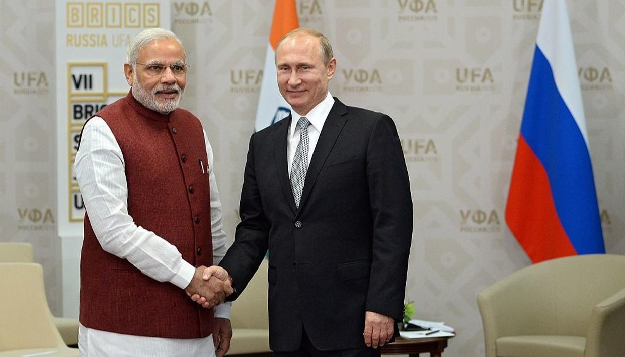 PM MODI TO GO TO RUSSIA FOR INFORMAL SUMMIT