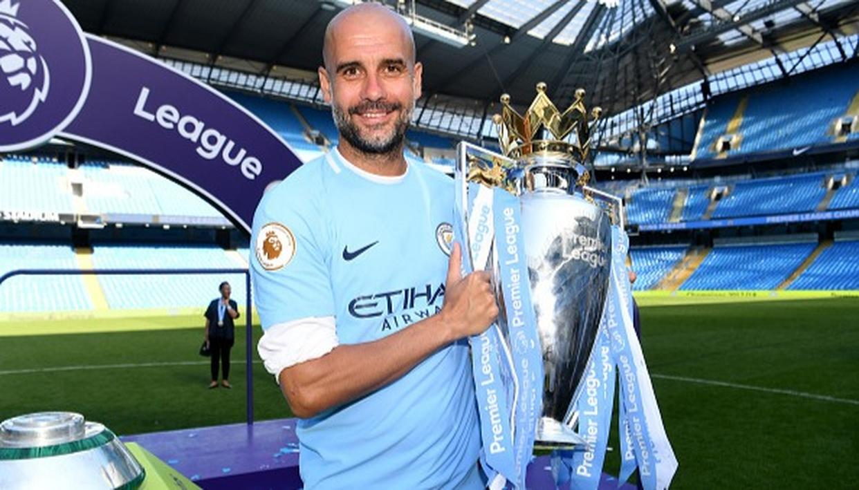 GUARDIOLA SIGNS CONTRACT
