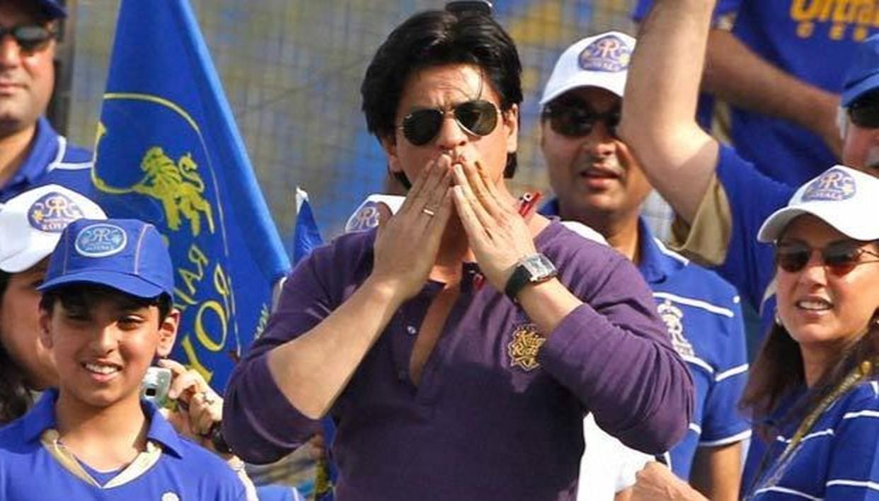 SRK REACTS TO KKR QUALIFYING FOR PLAY-OFFS
