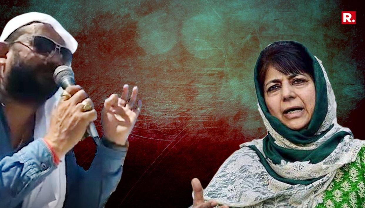 LAL SINGH'S BROTHER CALLS MEHBOOBA MUFTI A CANINE