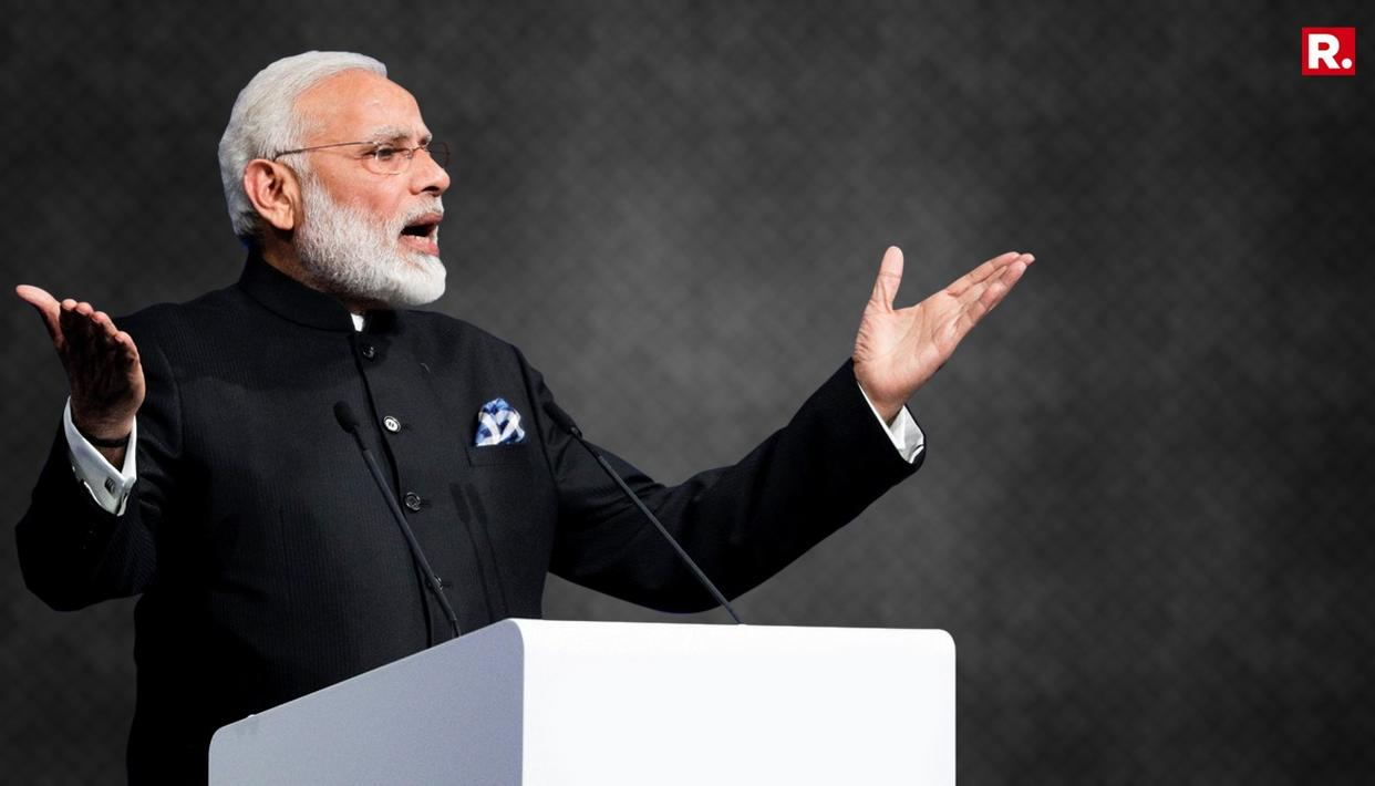 INDIAN ECONOMY BIGGER THAN UK, FRANCE. FM HAILS PM MODI