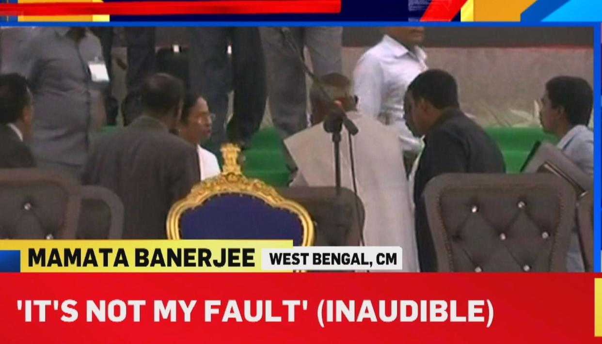 MAMATA 'INSULTED'?