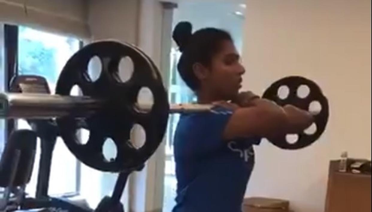 MITHALI RAJ SLAYS HER FITNESS CHALLENGE