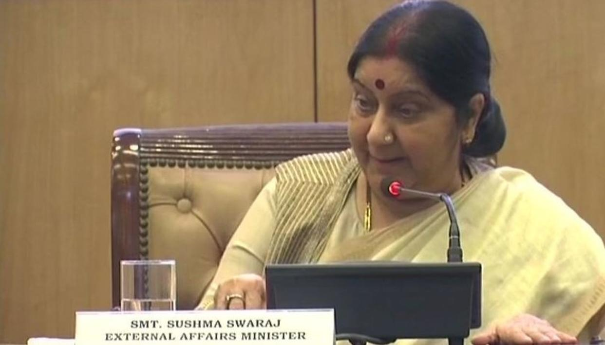 MANSAROVAR YATRIS NOT BEING BLOCKED: EAM SWARAJ