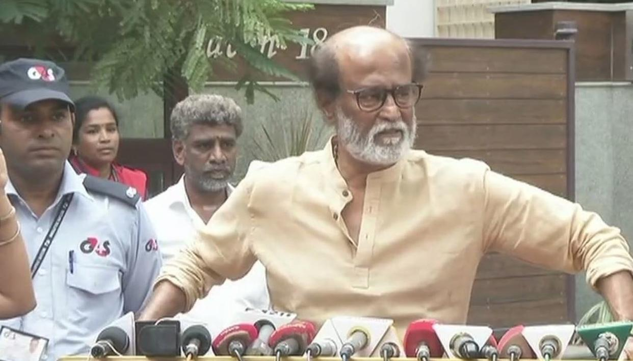 RAJINIKANTH: DON'T KNOW WHY KAALA HAS BEEN BANNED