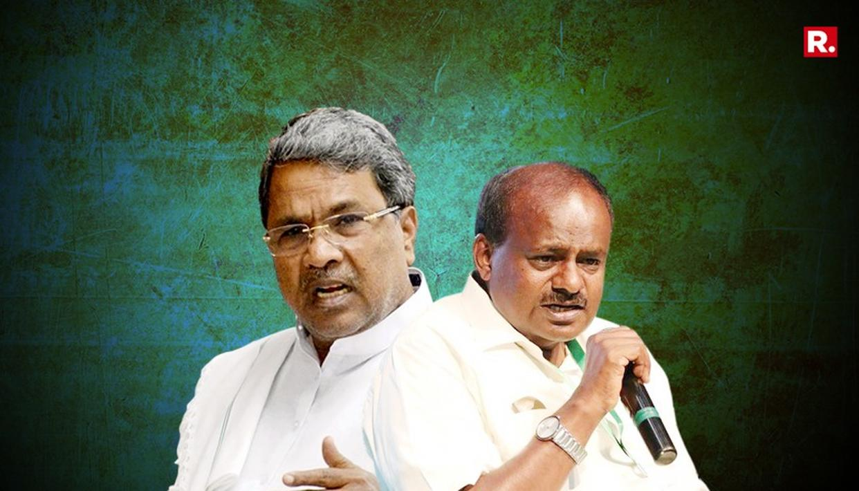 KUMARASWAMY SLAMS CONGRESS