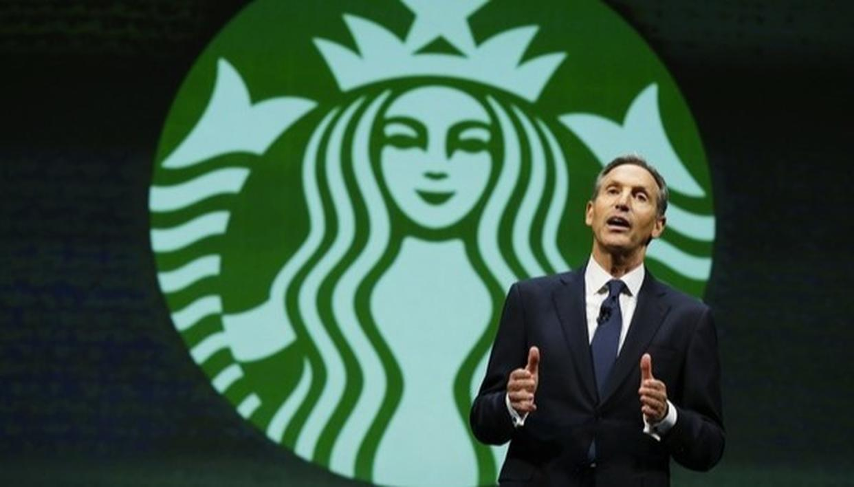 STARBUCKS CHAIRMAN TO CHOOSE PUBLIC SERVICE OVER PHILANTHROPHY