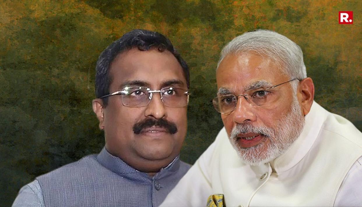 RAM MADHAV CONDEMS #ModiAssassinationPlot