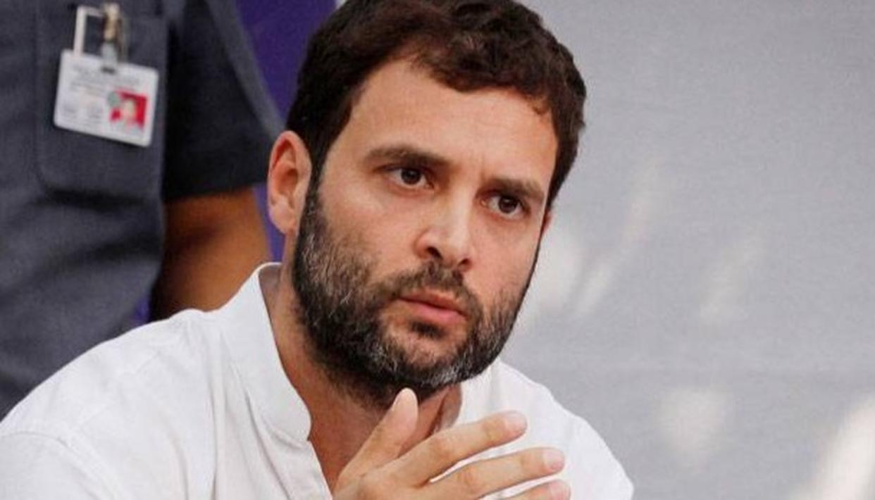 RAHUL OFFERED CONDOLENCE TO THE CONGRESS VETERANS