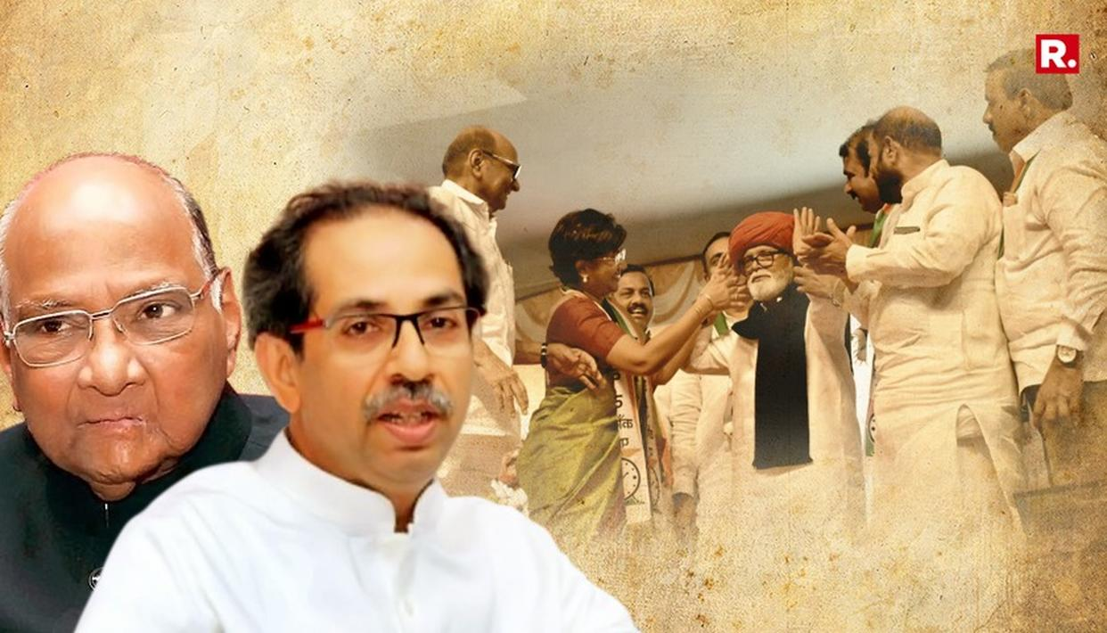 UDDHAV SLAMS SHARAD FOR PLAYING 'PAGDI POLITICS'