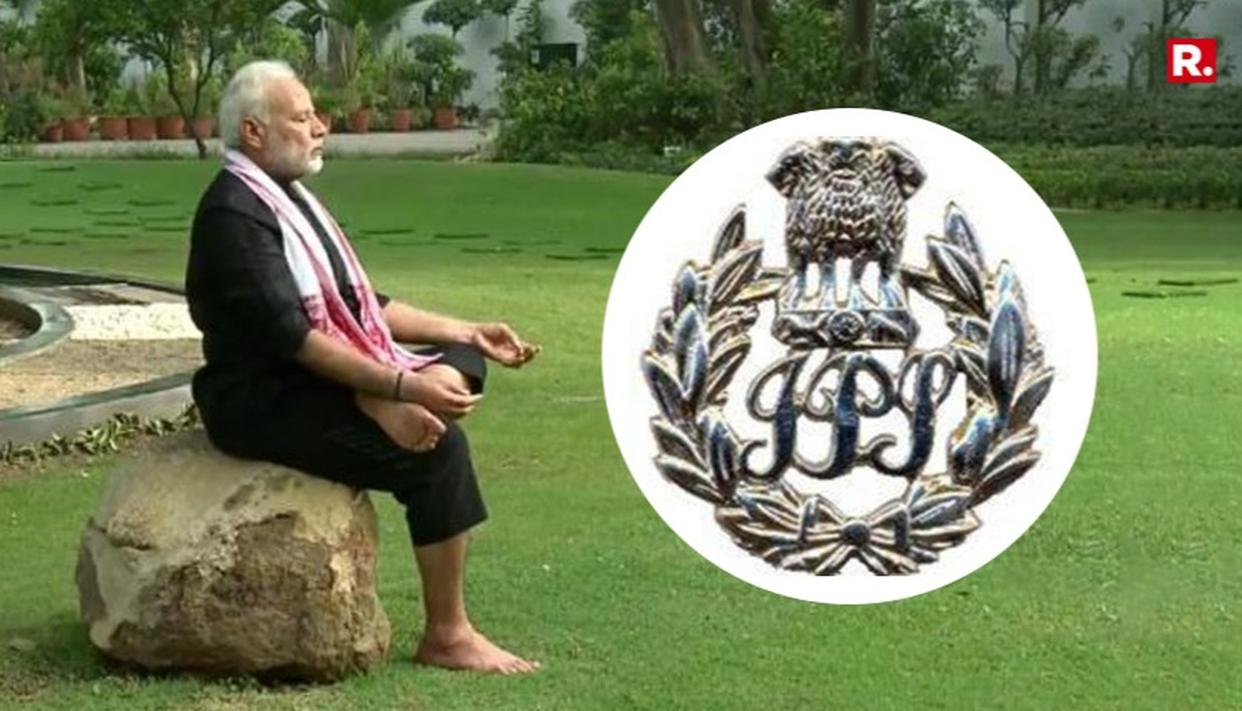 IPS ASSOCIATION ACCEPTS PM MODI'S FITNESS CHALLENGE