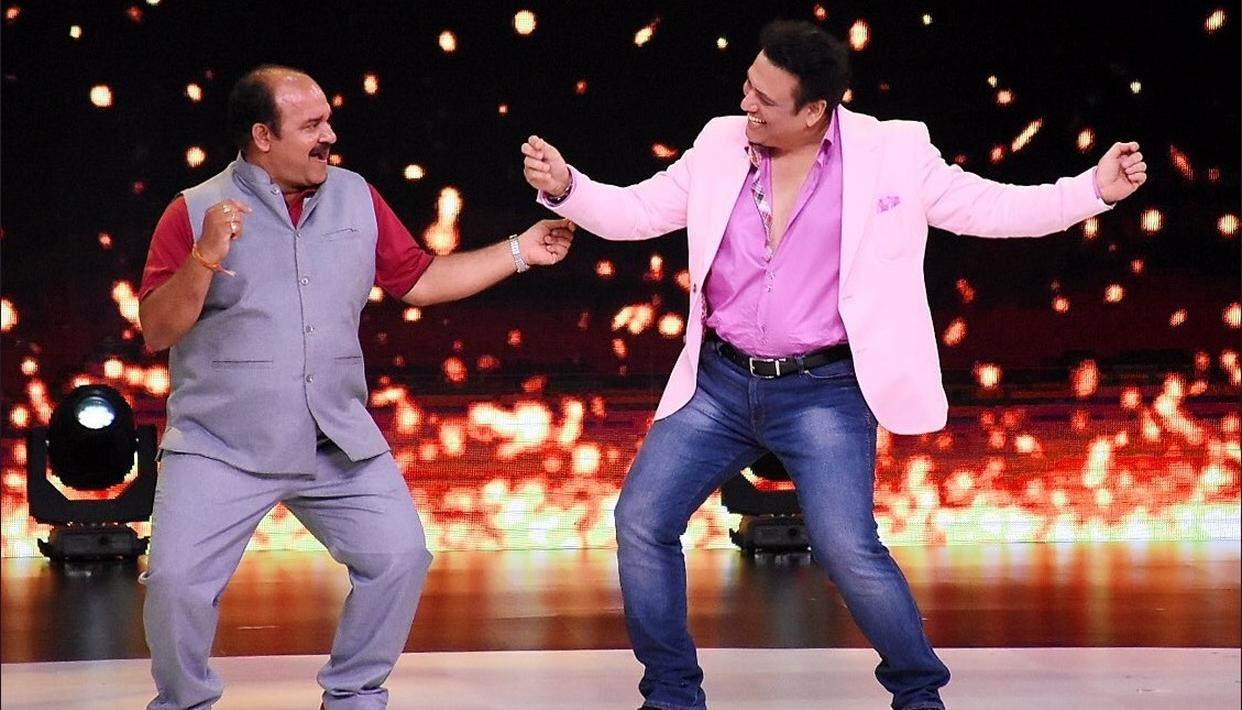 DANCING UNCLE GROOVED WITH HIS IDOL GOVINDA